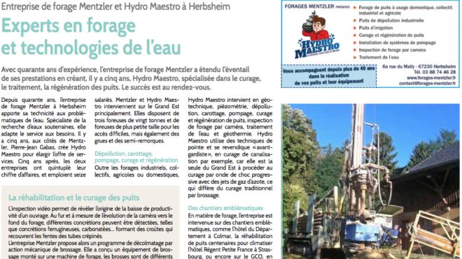 Forages Mentzler et Hydro Maestro - Experts en forage et technologies de l'eau